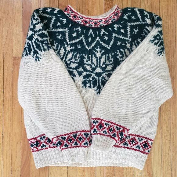 Vintage Eddie Bauer Wool knit